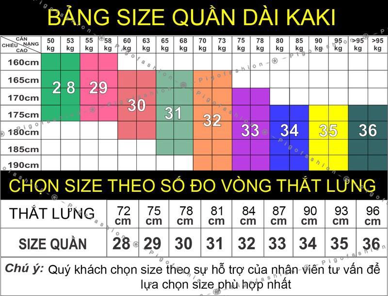 Quần Kaki Dài Nam co giãn Regular cao cấp Pigofashion QKK01 - 5 - nhiều màu 2