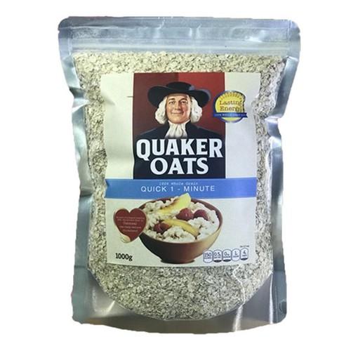 Yến mạch mỹ quaker oats quick one minute loại cán vỡ túi 1kg susuto - 11411375 , 16830810 , 15_16830810 , 90000 , Yen-mach-my-quaker-oats-quick-one-minute-loai-can-vo-tui-1kg-susuto-15_16830810 , sendo.vn , Yến mạch mỹ quaker oats quick one minute loại cán vỡ túi 1kg susuto