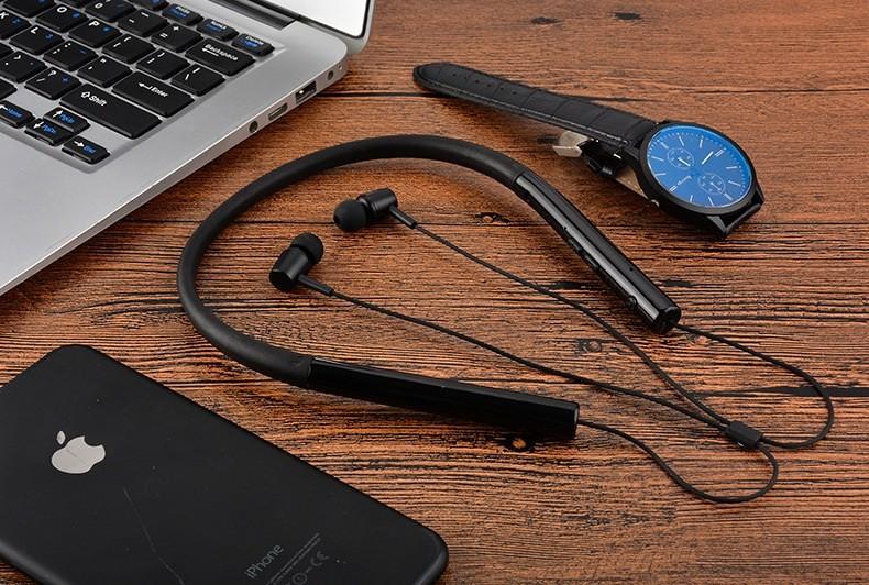 Tai nghe Bluetooth nhét tai chống nước 750A PKCB153 tai nghe thể thao 4