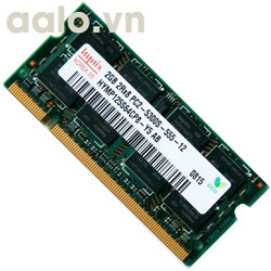 Ram Laptop DDR2 2GB cũ bus 667MHZ - 800MHZ - AA5008