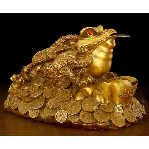 Tượng linh vật cóc thiềm thừ ôm nén vàng bằng đồng thau phong thủy phát tài lộc - 6829803 , 16830648 , 15_16830648 , 699000 , Tuong-linh-vat-coc-thiem-thu-om-nen-vang-bang-dong-thau-phong-thuy-phat-tai-loc-15_16830648 , sendo.vn , Tượng linh vật cóc thiềm thừ ôm nén vàng bằng đồng thau phong thủy phát tài lộc