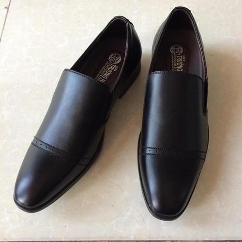 Giày tây nam đen da bò cao cấp TH - GT 207