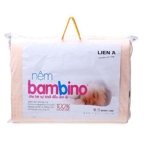 Nệm cao su trẻ em Liên Á Bambino 100 x 130 x 2cm & 01 Áo bọc nệm cùng kích thước