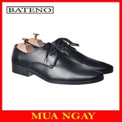 Giày Da Nam Buộc Dây Mũi Nhọn Bateno BT19