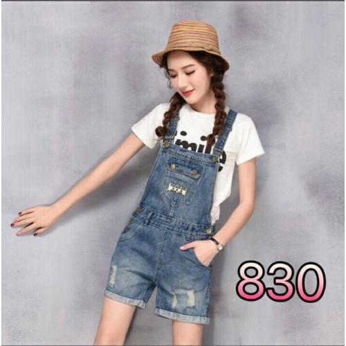 Quần yếm jean nữ cute - 6887278 , 16873515 , 15_16873515 , 165000 , Quan-yem-jean-nu-cute-15_16873515 , sendo.vn , Quần yếm jean nữ cute