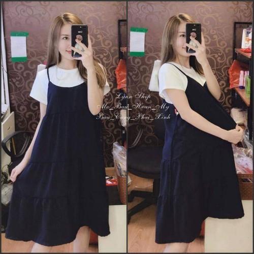 váy bầu xinh chất mát hàng đẹp