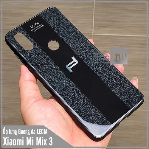 Ốp lưng XM Mi Mix 3 Gương da LECIA - đen - 6869517 , 16860432 , 15_16860432 , 79000 , Op-lung-XM-Mi-Mix-3-Guong-da-LECIA-den-15_16860432 , sendo.vn , Ốp lưng XM Mi Mix 3 Gương da LECIA - đen