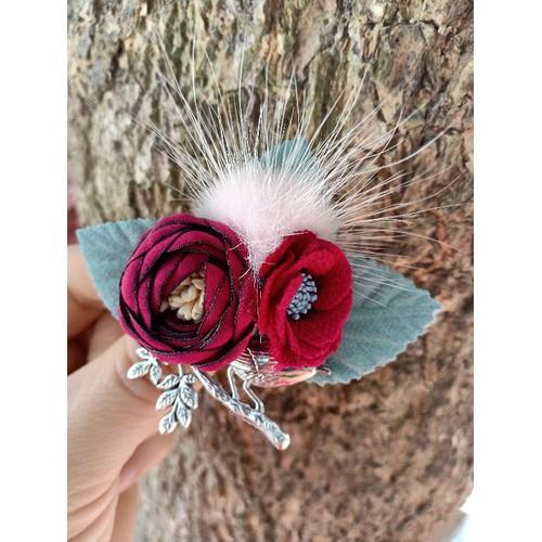 Cài áo hoa nhí phối lông thỏ - 6889102 , 16874593 , 15_16874593 , 80000 , Cai-ao-hoa-nhi-phoi-long-tho-15_16874593 , sendo.vn , Cài áo hoa nhí phối lông thỏ