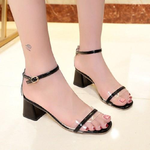 giày cao gót đế vuông 5cm size nhỏ size lớn 32 33 34 40 41 42 43