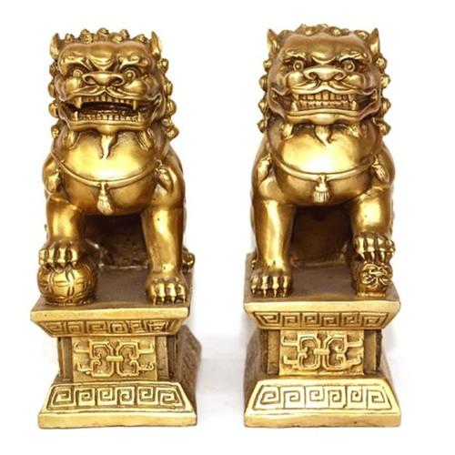 Tượng linh vật phong thủy đôi con nghê bằng đồng thau cỡ đại - 6862522 , 16855120 , 15_16855120 , 989000 , Tuong-linh-vat-phong-thuy-doi-con-nghe-bang-dong-thau-co-dai-15_16855120 , sendo.vn , Tượng linh vật phong thủy đôi con nghê bằng đồng thau cỡ đại