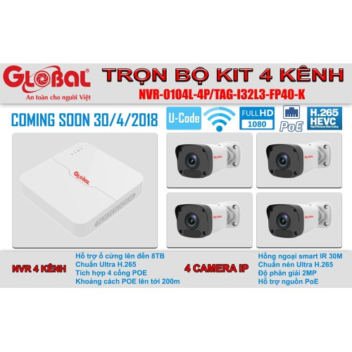 Bộ combo 4 camera IP POE FULL HD 1080P Chính hãng Global Việt Nam - Server Việt Nam - 6862407 , 16854974 , 15_16854974 , 7500000 , Bo-combo-4-camera-IP-POE-FULL-HD-1080P-Chinh-hang-Global-Viet-Nam-Server-Viet-Nam-15_16854974 , sendo.vn , Bộ combo 4 camera IP POE FULL HD 1080P Chính hãng Global Việt Nam - Server Việt Nam