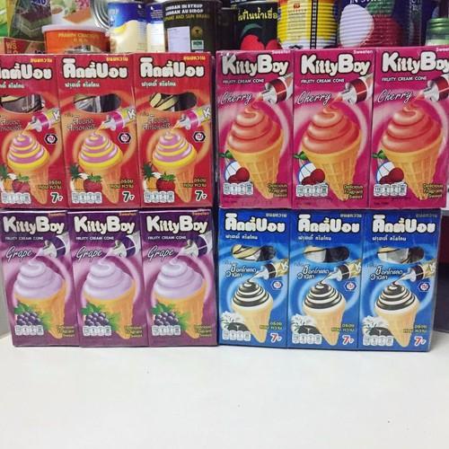 Bánh ốc quế kem Kitty Boy lốc 12 hộp - 6887895 , 16873802 , 15_16873802 , 75000 , Banh-oc-que-kem-Kitty-Boy-loc-12-hop-15_16873802 , sendo.vn , Bánh ốc quế kem Kitty Boy lốc 12 hộp