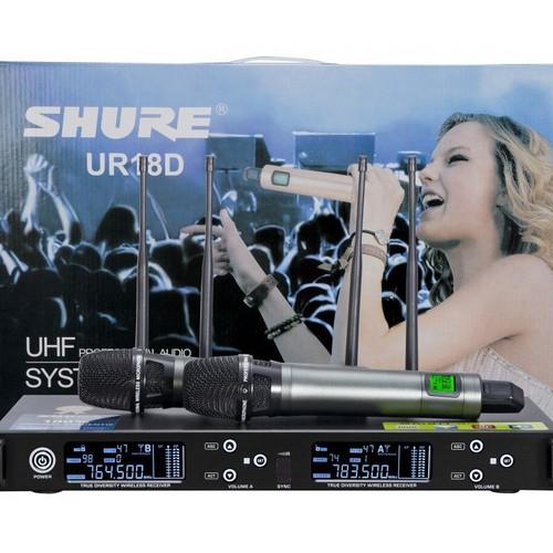 Micro không dây Shu re UR18D - 6867472 , 16859060 , 15_16859060 , 3290000 , Micro-khong-day-Shu-re-UR18D-15_16859060 , sendo.vn , Micro không dây Shu re UR18D
