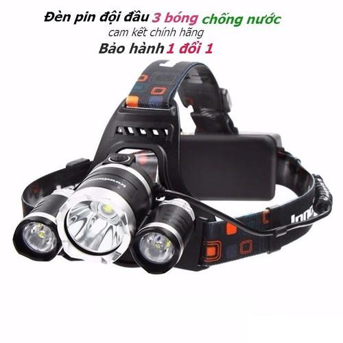 Đèn đội đầu pin sạc chính hãng