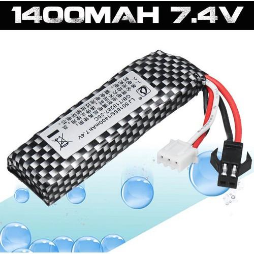 Pin 7.4V-1400MAH Cho Các Dòng Đồ Chơi Chạy Pin, Flycam,Cano,Xe Mô Hình,Pin Xong Xong