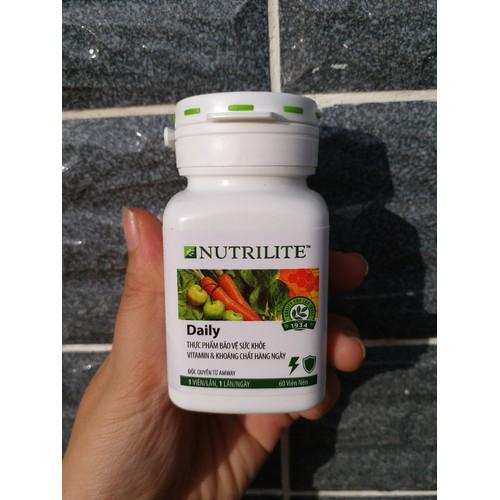 [GIÁ HỦY DIỆT] Viên TP BVSK Vitamin & khoáng chất hàng ngày Nutrilite Daily Amway