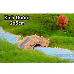 Cầu vòm đá - Trang trí hồ cá, thủy sinh, phụ kiện tiểu cảnh, terrarium, cầu nhỏ mini