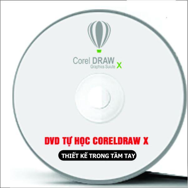 Bộ DVD Giáo Trình Học CorelDRAW X Full 2
