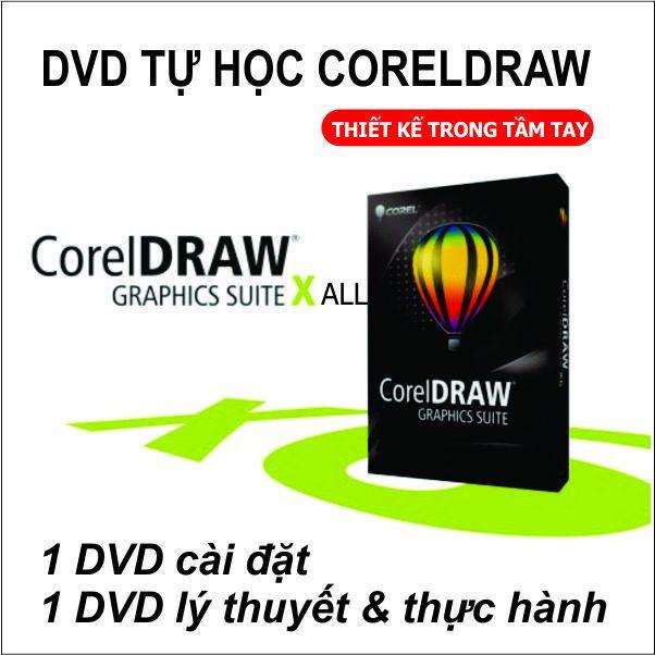 Bộ DVD Giáo Trình Học CorelDRAW X Full 3
