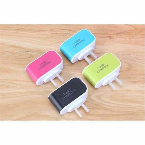 Củ Sạc Điện Thoại Đa Năng 3 Cổng USB - 4775383 , 16876426 , 15_16876426 , 50000 , Cu-Sac-Dien-Thoai-Da-Nang-3-Cong-USB-15_16876426 , sendo.vn , Củ Sạc Điện Thoại Đa Năng 3 Cổng USB