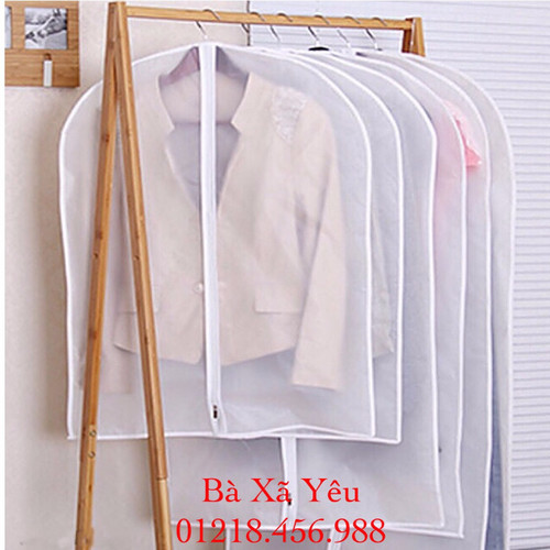 Combo 15 túi bảo quản áo dài, quần dài chống thấm 3 SIZE
