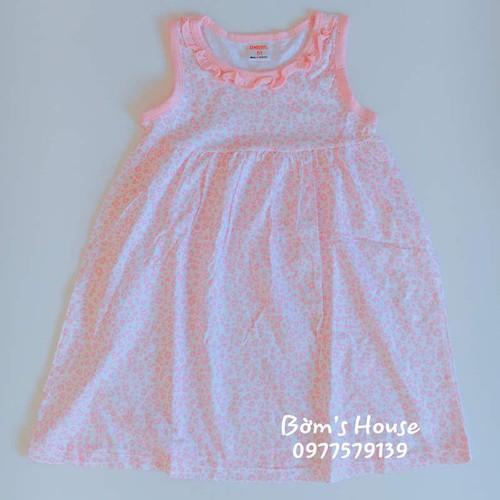 Váy Bé Gái Gymboree - Hồng Nhạt Hoạ Tiết Hoa Nhẹ Nhàng