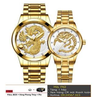 [Tặng Vòng Tặng Pin] Đồng hồ cặp thương hiệu FNGEEN cao cấp - giá 1 cặp - 7348 thumbnail