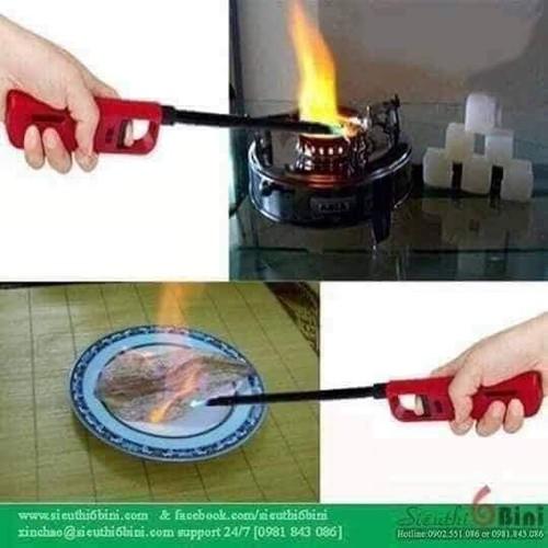 Dụng cụ mồi lửa bếp ga bếp cồn