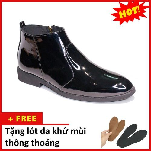 Giày nam|giày nam đẹp|cb521-bong|21319 giày nam đep - aroti - giày cb nam m521 đen bóng  khóa sang trọng - phong cách - giày boot nam - - 19041101 , 16874136 , 15_16874136 , 225000 , Giay-namgiay-nam-depcb521-bong21319-giay-nam-dep-aroti-giay-cb-nam-m521-den-bong-khoa-sang-trong-phong-cach-giay-boot-nam--15_16874136 , sendo.vn , Giày nam|giày nam đẹp|cb521-bong|21319 giày nam đep - ar