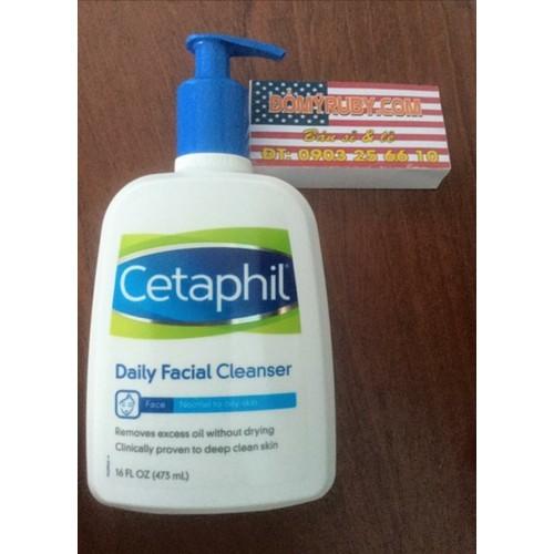 Sữa rửa mặt Cetaphil Daily Facial Cleanser  Chai nhỏ 125 ml giá 180 k  Chai đại 591ml gia 350 k - 6915432 , 16892140 , 15_16892140 , 190000 , Sua-rua-mat-Cetaphil-Daily-Facial-Cleanser-Chai-nho-125-ml-gia-180-k-Chai-dai-591ml-gia-350-k-15_16892140 , sendo.vn , Sữa rửa mặt Cetaphil Daily Facial Cleanser  Chai nhỏ 125 ml giá 180 k  Chai đại 591ml g