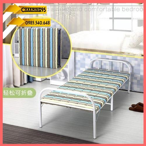 Giường xếp gọn khung thép sẵn đệm 185x75x40 mẫu 75cm-giường-giường gấp kim loại-giường gấp gọn-giường khung thép-giường đa năng-giường di động-giường cao cấp-giường 1m8-giường đa năng - REo359 giường  - 6899679 , 16881474 , 15_16881474 , 1800000 , Giuong-xep-gon-khung-thep-san-dem-185x75x40-mau-75cm-giuong-giuong-gap-kim-loai-giuong-gap-gon-giuong-khung-thep-giuong-da-nang-giuong-di-dong-giuong-cao-cap-giuong-1m8-giuong-da-nang-REo359-giuong-ngu-cao