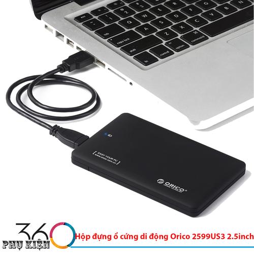 Hộp đựng ổ cứng di động Orico 2599US3 2.5inch - 6907287 , 16885911 , 15_16885911 , 249000 , Hop-dung-o-cung-di-dong-Orico-2599US3-2.5inch-15_16885911 , sendo.vn , Hộp đựng ổ cứng di động Orico 2599US3 2.5inch