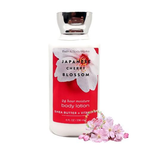 Sữa Dưỡng Thể Bath & Body Works – Japanese Cherry Blossom 236ml