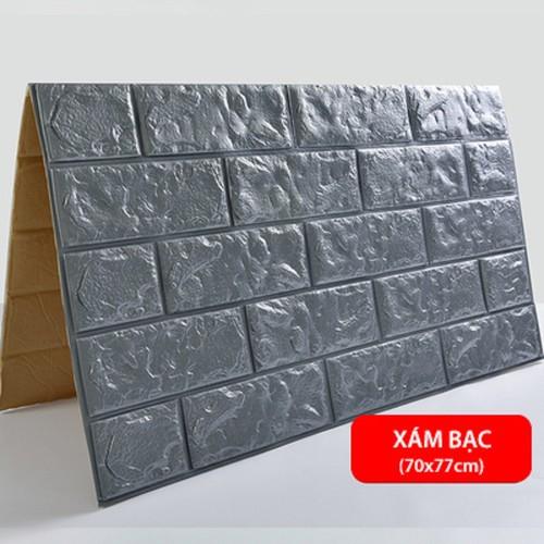 Xốp dán tường - giấy dán tương không cần keo