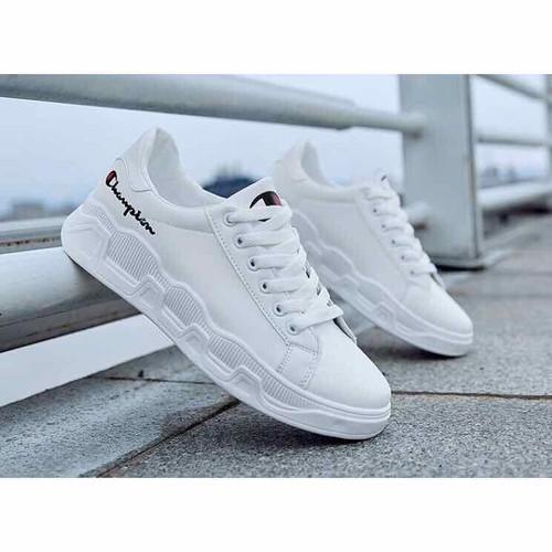 Giày nam thể thao 2 màu đen trắng