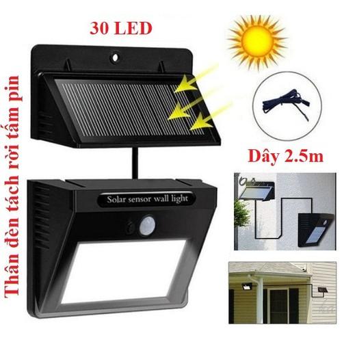 Bóng đèn LED năng lượng mặt trời 30 Led, Pin và đèn tách rời, cảm biến hồng ngoại 3 chế độ chiếu sáng - 4603653 , 16881328 , 15_16881328 , 139000 , Bong-den-LED-nang-luong-mat-troi-30-Led-Pin-va-den-tach-roi-cam-bien-hong-ngoai-3-che-do-chieu-sang-15_16881328 , sendo.vn , Bóng đèn LED năng lượng mặt trời 30 Led, Pin và đèn tách rời, cảm biến hồng ngoại