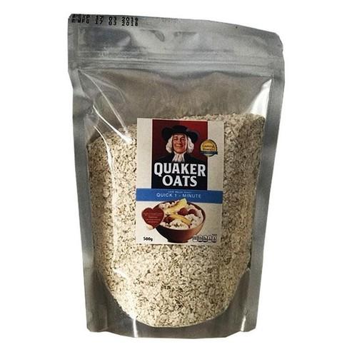 Yến Mạch Mỹ Quaker Oats túi 500g - Cán Vỡ