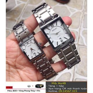 [Tặng Vòng Tặng Pin] Đồng hồ đôi Halei sang trọng có lịch - giá 1 đôi - 516 thumbnail