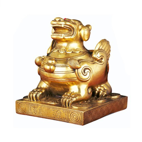 Tượng linh vật tỳ hưu bệ bằng đồng thau cỡ đại phong thủy phát tài lộc - 6896816 , 16879182 , 15_16879182 , 489000 , Tuong-linh-vat-ty-huu-be-bang-dong-thau-co-dai-phong-thuy-phat-tai-loc-15_16879182 , sendo.vn , Tượng linh vật tỳ hưu bệ bằng đồng thau cỡ đại phong thủy phát tài lộc