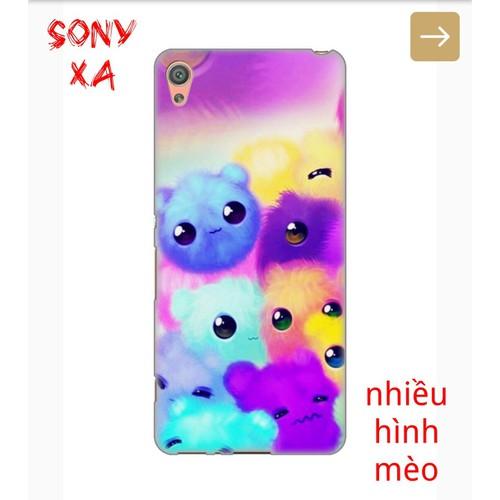 Ốp Lưng Sony XA Nhiều Hình Chú Mèo