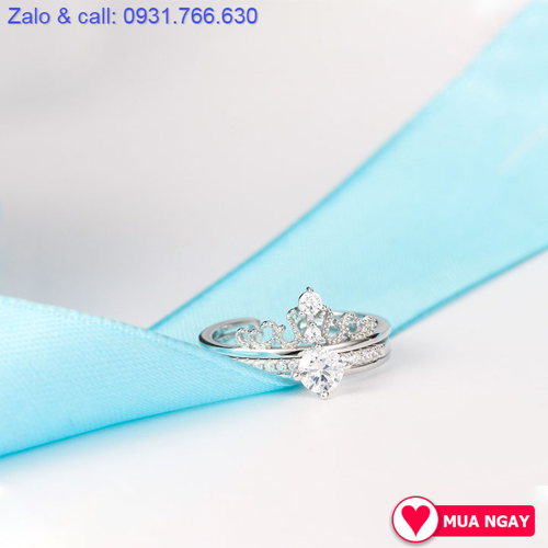 Nhẫn bạc hình vương miện cho nữ - 6901162 , 16882315 , 15_16882315 , 199000 , Nhan-bac-hinh-vuong-mien-cho-nu-15_16882315 , sendo.vn , Nhẫn bạc hình vương miện cho nữ