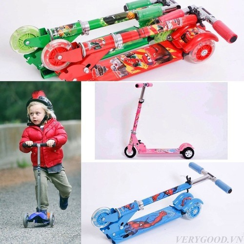 Xe trượt ba bánh Scooter cho trẻ em