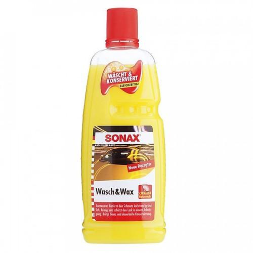 Nước Rửa Xe Và Phủ Bóng Bề Mặt Sơn 1000ml - Sonax Wash & Wax 313341