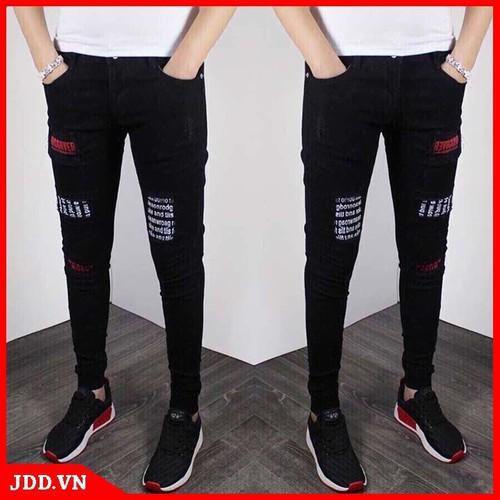 quần jean trắng nam