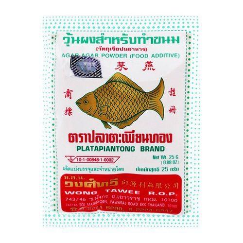Bột rau câu con cá vàng Platapiantong gói 25g