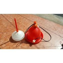máng chuông nước tự động cho gà