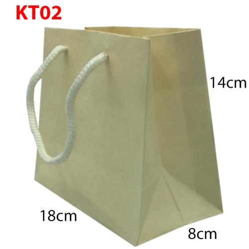 10 Túi giấy trơn KT02