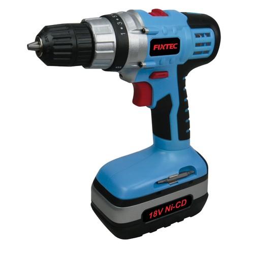 Bộ máy khoan pin 18V Fixtec và phụ kiện mũi khoan