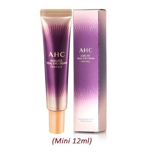 Kem thâm mắt AHC Eye Cream For Face 12 ml, hàng nội địa Hàn quốc