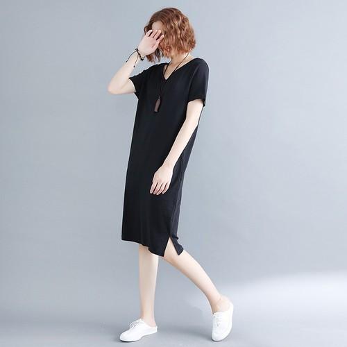 Đầm suông nữ đơn giản D7218